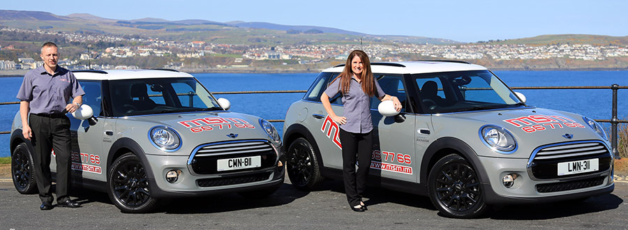 Craig and Lisa from Manx School of Motoring